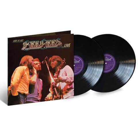 √Here At Last ... Bee Gees Live (2LP) von Bee Gees - 2LP jetzt im Bravado Shop