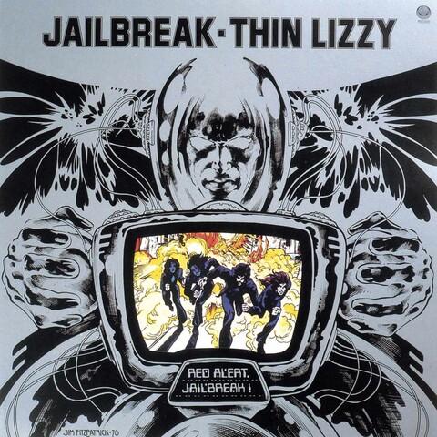 √Jailbreak (LP Re-Issue) von Thin Lizzy - LP jetzt im Bravado Shop