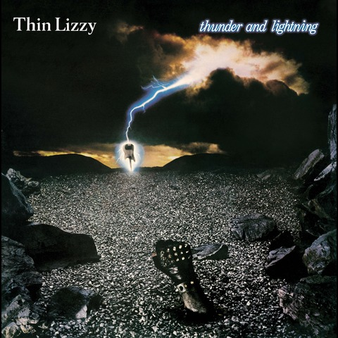 √Thunder and Lightning (LP Re-Issue) von Thin Lizzy - LP jetzt im Bravado Shop