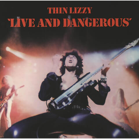 Live and Dangerous (LP Re-Issue) von Thin Lizzy - 2LP jetzt im Bravado Shop