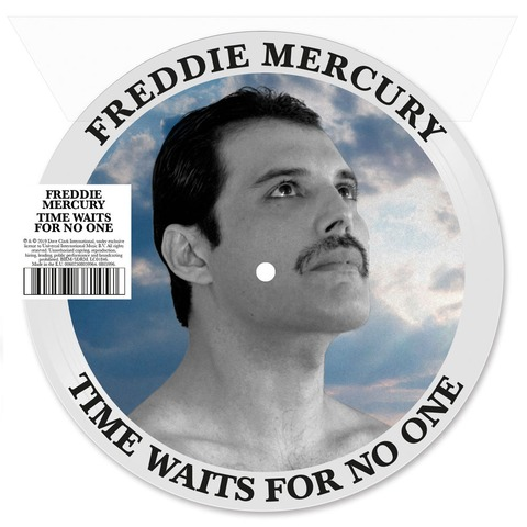 √Time Waits For No One (Picture Disc) von Freddie Mercury - LP jetzt im Bravado Shop