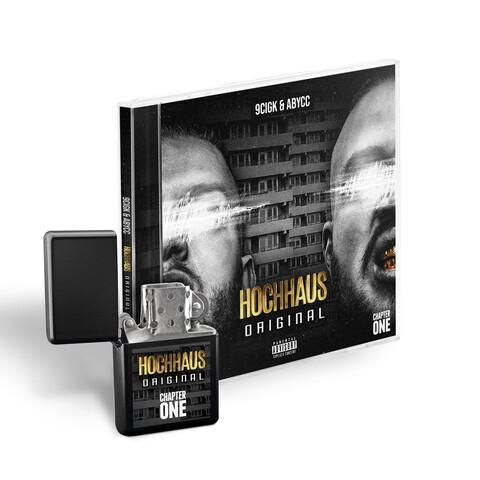 √Hochhaus Original (Ltd. Feuerzeug Bundle) von 9cigK & Abycc - CD Bundle jetzt im Bravado Shop