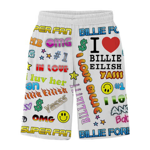 √Billie Eilish x FreakCity Super Fan von Billie Eilish - Shorts jetzt im Bravado Shop