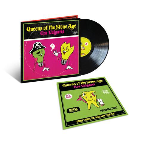 Era Vulgaris (Vinyl Reissue) von Queens Of The Stone Age - LP jetzt im Bravado Shop