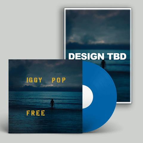 √Free (Ltd. SIGNED Poster Bundle) von Iggy Pop - LP Bundle jetzt im Bravado Shop