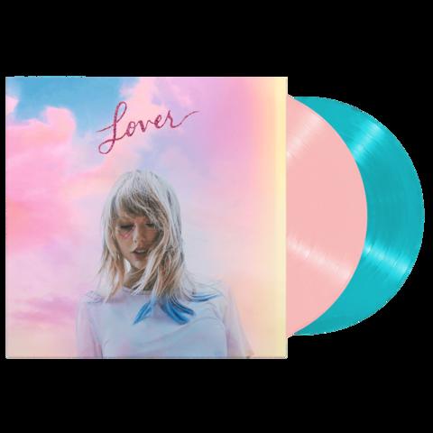√Lover (2-Disc Color Vinyl Set) von Taylor Swift - 2LP jetzt im Bravado Shop