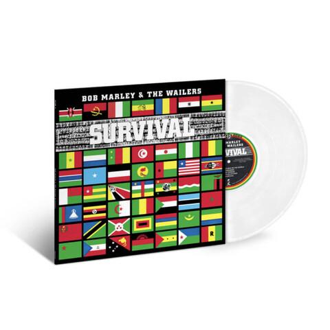 √Survival (Ltd. Clear Vinyl) von Bob Marley & The Wailers - LP jetzt im Bravado Shop