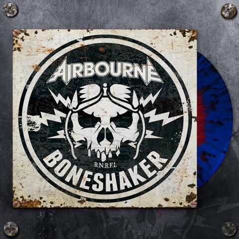 √Boneshaker (Ltd. Blue & Red Splatter LP) von Airbourne - LP jetzt im Bravado Shop