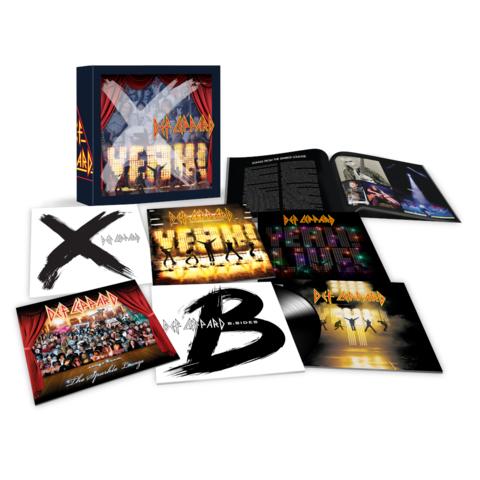 √The Vinyl Boxset: Volume Three (9LPs) von Def Leppard - Box set jetzt im Bravado Shop