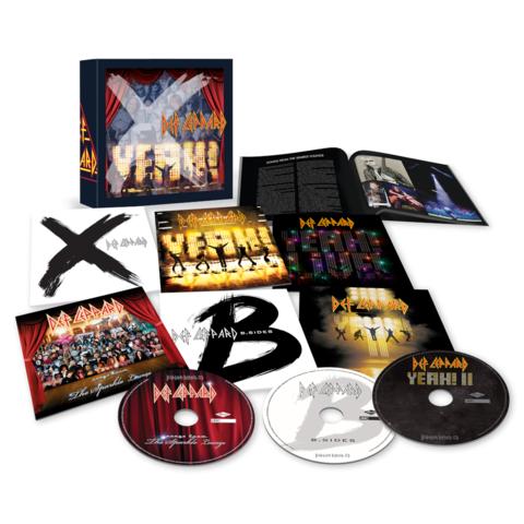 √The Vinyl Boxset: Volume Three (6CDs) von Def Leppard - Box set jetzt im Bravado Shop
