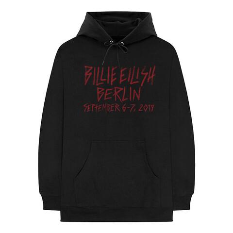 √Berlin 2019 von Billie Eilish - Hood sweater jetzt im Bravado Shop