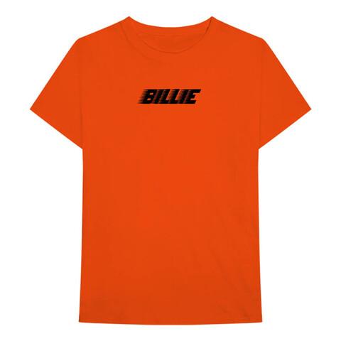 √Billie Racer Logo von Billie Eilish - T-Shirt jetzt im Bravado Shop