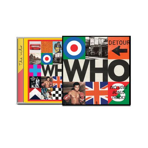 √Who (Deluxe CD) von The Who - Deluxe CD jetzt im Bravado Shop