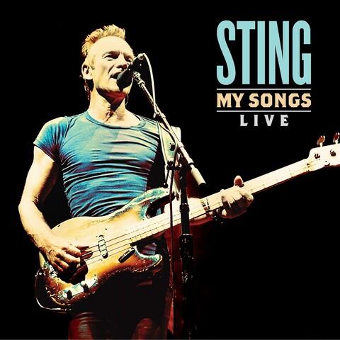 √My Songs Live von Sting - LP jetzt im Bravado Shop
