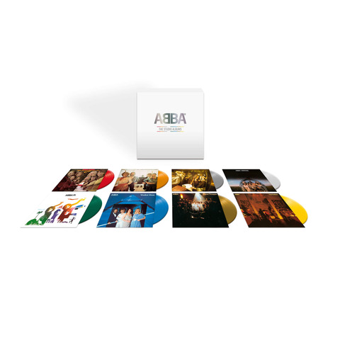 √The Studio Albums (8LP Coloured Vinyl Box) von ABBA - Box set jetzt im Bravado Shop