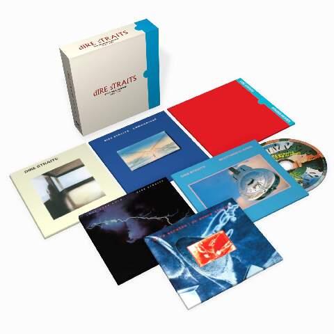 √The Studio Albums 1978-1991 (Ltd. 6CD Boxset) von Dire Straits - Box set jetzt im Bravado Shop