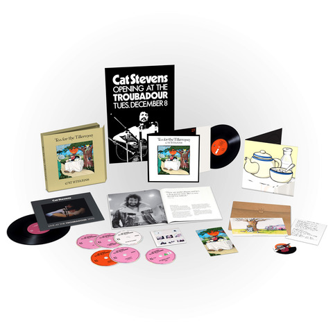 √Tea For The Tillerman (Super Deluxe Boxset) von Yusuf / Cat Stevens - Box set jetzt im Bravado Shop