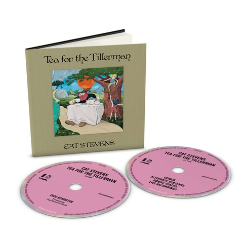 √Tea For The Tillerman (Deluxe 2CD) von Yusuf / Cat Stevens - 2CD jetzt im Bravado Shop