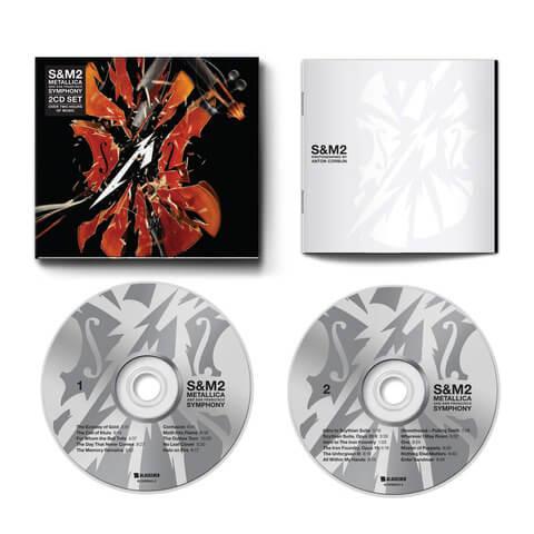√S&M2 von Metallica - 2CD jetzt im Bravado Shop