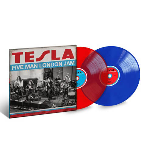 Five Man London Jam (Ltd. Coloured LP) von Tesla - 2LP jetzt im Bravado Shop