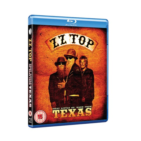 √The Little Ol' Band From Texas (Ltd. Edition BluRay) von ZZ Top - BluRay jetzt im Bravado Shop