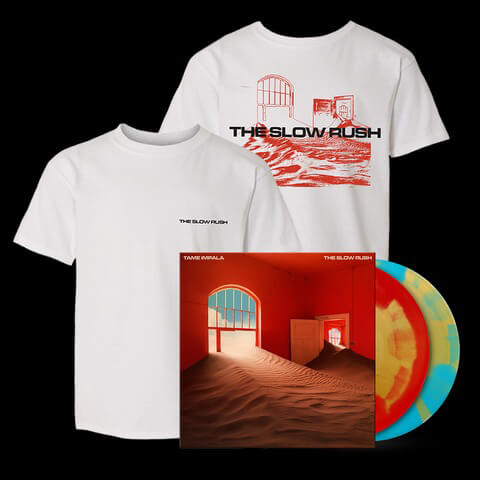 √The Slow Rush (Ltd. Bundle: Coloured LP + T-Shirt) von Tame Impala - LP Bundle jetzt im Bravado Shop