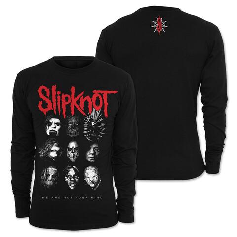 √Faces von Slipknot - Long-sleeve jetzt im Bravado Shop