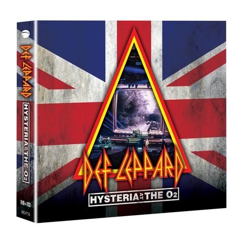 Hysteria At The O2 (BluRay + 2CD) von Def Leppard - BluRay + 2 CD jetzt im Bravado Shop