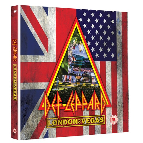 √London To Vegas (Deluxe Box 2BluRay+4CD - Limited Edition) von Def Leppard - Box set jetzt im Bravado Shop