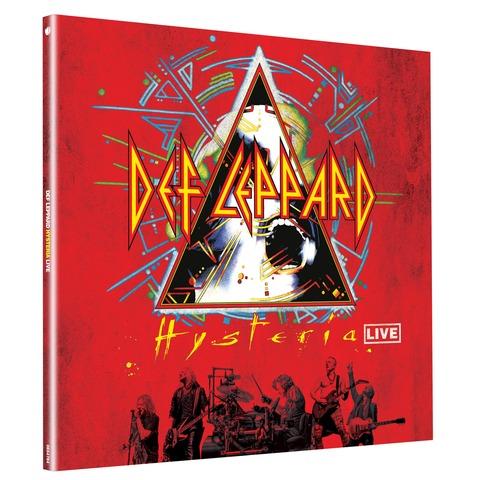 Hysteria Live (Crystal Clear 2LP - Ltd. Edition) von Def Leppard - 2LP jetzt im Bravado Shop