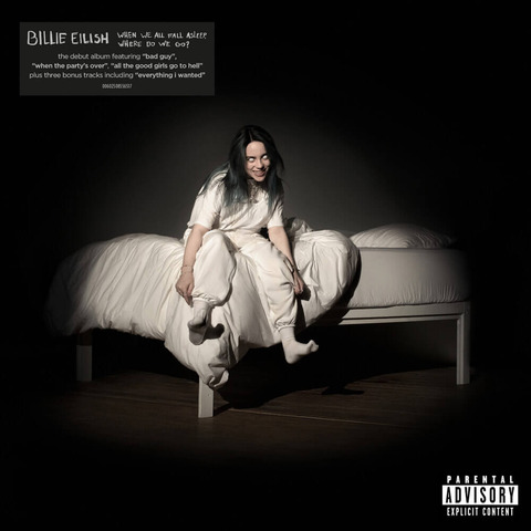 WHEN WE ALL FALL ASLEEP, WHERE DO WE GO? (Re-Pack) von Billie Eilish - CD jetzt im Bravado Shop