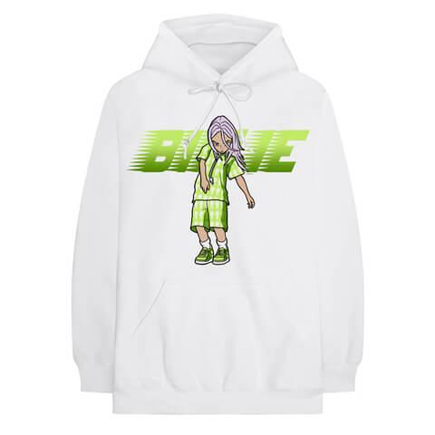 √Anime Murakami von Billie Eilish - Hood sweater jetzt im Bravado Shop