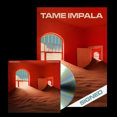 √The Slow Rush (Ltd. CD + signed Poster Bundle) von Tame Impala - CD Bundle jetzt im Bravado Shop
