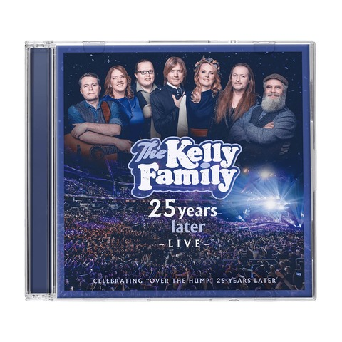 √25 Years Later - Live von The Kelly Family - 2CD jetzt im Bravado Shop
