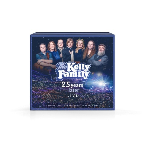 √25 Years Later - Live (Deluxe Edition: 2CD+2DVD) von The Kelly Family -  jetzt im Bravado Shop
