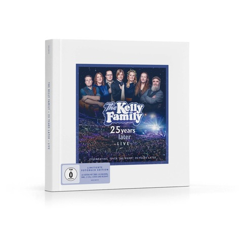 √25 Years Later - Live (Limitierte Fotobuch Edition) von The Kelly Family - Box jetzt im Bravado Shop