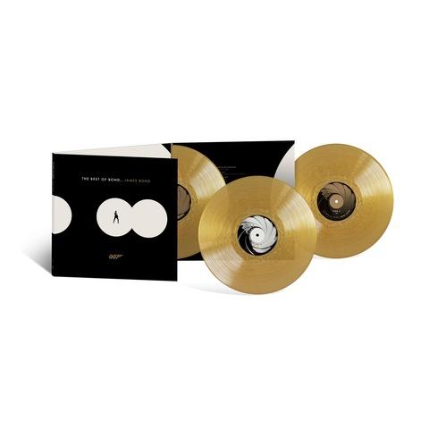 The Best of Bond... James Bond (Ltd. Coloured 3LP) von Various Artists - 3LP jetzt im Bravado Shop