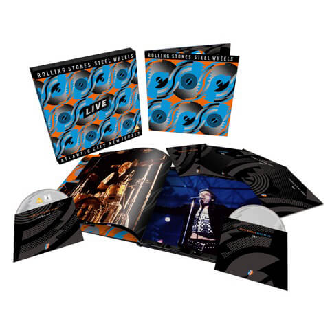 √Steel Wheels Live (Limited Edition 6-disc Collector's Set) von The Rolling Stones - Box set jetzt im Bravado Shop