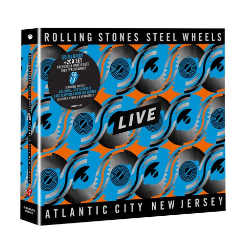 Steel Wheels Live (BD50 SD blu-ray + 2CD) von The Rolling Stones - BluRay-Bundle jetzt im Bravado Shop