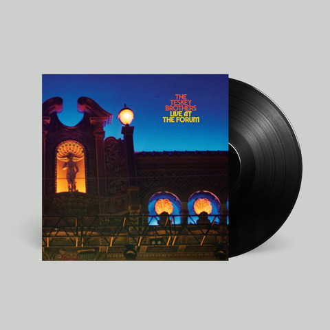 √Live At The Forum (Black LP) von The Teskey Brothers - LP jetzt im Bravado Shop