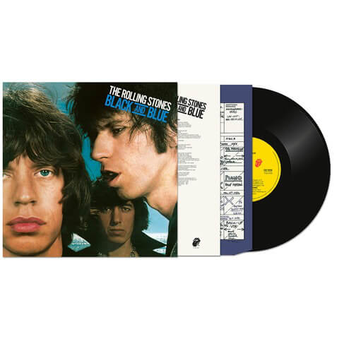 Black And Blue (Half Speed Masters LP Re-Issue) von The Rolling Stones - 1LP jetzt im Bravado Shop