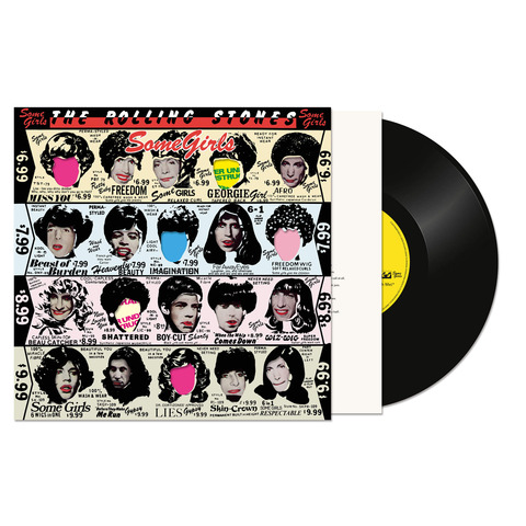 Some Girls (Half Speed Master LP Re-Issue) von The Rolling Stones - LP jetzt im Bravado Shop