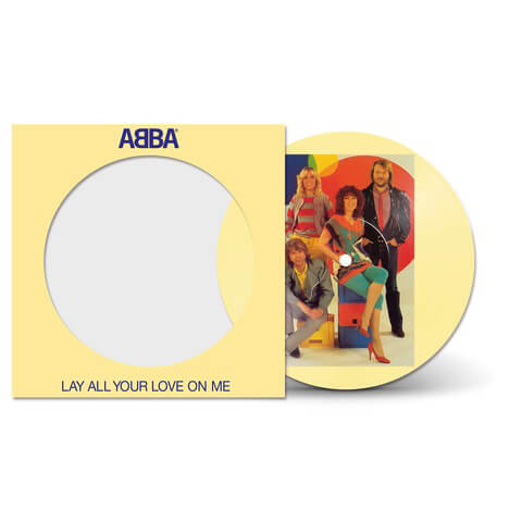 √Lay All Your Love On Me (40th Anniversary - Ltd. Picture Disc) von ABBA - Vinyl jetzt im Bravado Shop