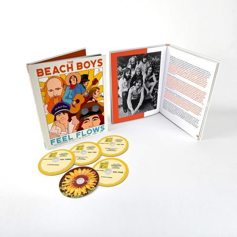Feel Flows (5CD Book Style Package) von Beach Boys - 5CD jetzt im Bravado Shop
