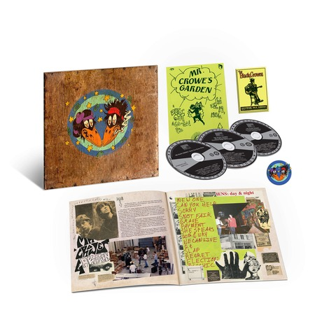 √Shake Your Money Maker (30th Anniversary - 3CD Deluxe Edition) von Black Crowes - 3CD jetzt im Bravado Shop