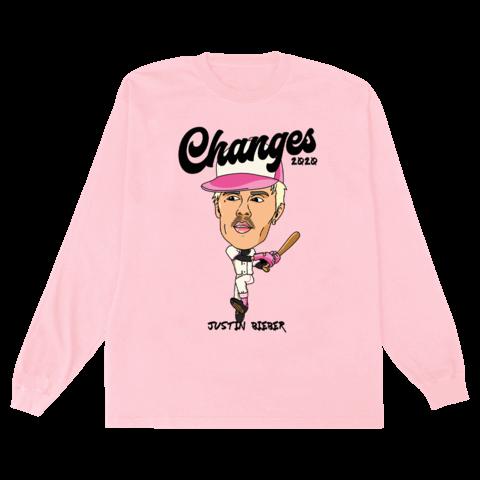 √Changes Baseball Doodle von Justin Bieber - Long-sleeve jetzt im Bravado Shop