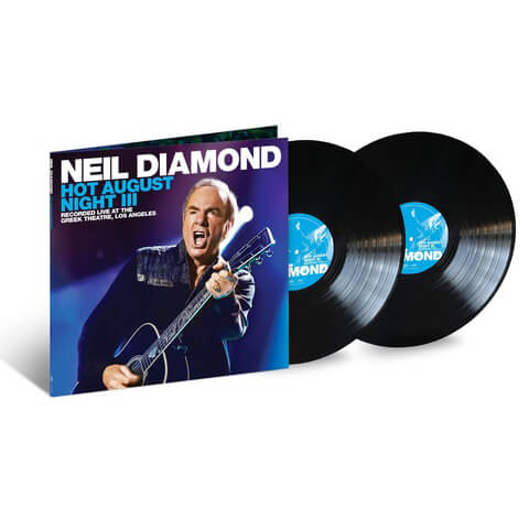 √Hot August Night III (2LP) von Neil Diamond - 2LP jetzt im Bravado Shop