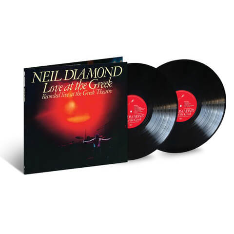 √Love At The Greek (2LP) von Neil Diamond - 2LP jetzt im Bravado Shop
