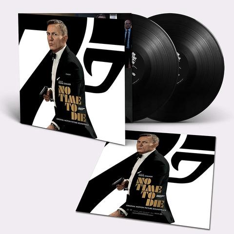 Bond 007: No Time To Die (2LP) von Hans Zimmer - 2LP jetzt im Bravado Store