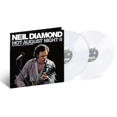 √Hot August Night II (ltd. Coloured 2LP) von Neil Diamond - 2LP jetzt im Bravado Shop